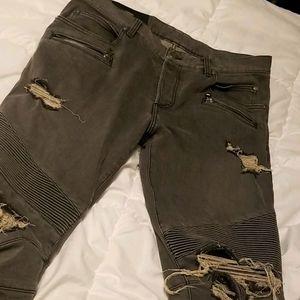 Authentic Balmain jeans